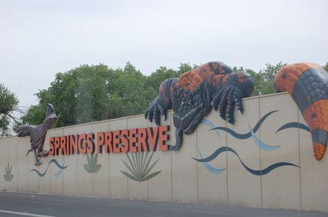 Springs Preserve Las Vegas Nv Jardin Botanico Botanica