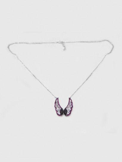 سلسله فضة عيار 925 سلسلة فضة ايطالى شكل جناحين Jewelry Silver Silver Necklace