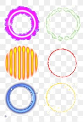 Light Effect Color Halo Shiny Round Circle Collection Free Buckle Light Effect Color Halo Png Transparent Clipart Image And Psd File For Free Download Light Effect Clip Art Baby Girl Art