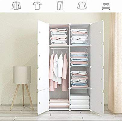 Amazon Com Joiscope Megafuture Wood Pattern Portable Wardrobe