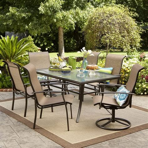 Meijer Patio Furniture Oakland Living Patio Dining Set Modern