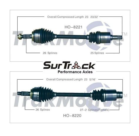 SurTrack CH-8221 Axle Shaft