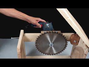 Truco Para Tu Taladro Fácil Como Hacer Una Sierra De Mesa Casera Youtube Sierra De Mesa Mesa Para Sierra Circular Mesas De Trabajo Carpinteria