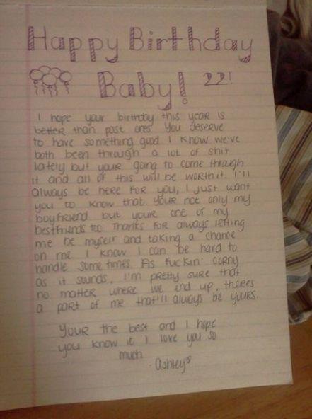 33 Trendy Birthday Message For Love Note #birthday