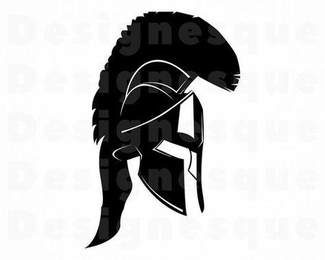 Warrior Helmet 2 Svg Helmet Svg Warrior Svg Clipart Files Etsy In 2021 Warrior Helmet Svg Warrior