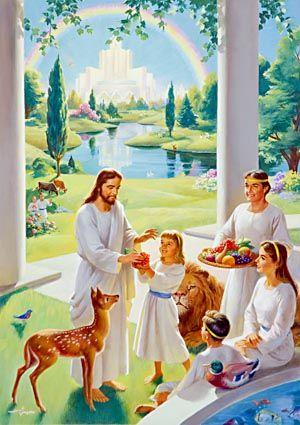 """Voici - Voici à quoi ressemblerait le """"Monde à venir"""" après le Retour de Jésus 19940683b79f31ae536c7ce000629bac"""