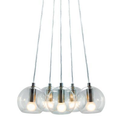 Suspension Colours Multiglobe Transparent L 30 X H 100 Avec Images Luminaire Plafonnier Design Castorama Luminaire Plafonnier Led