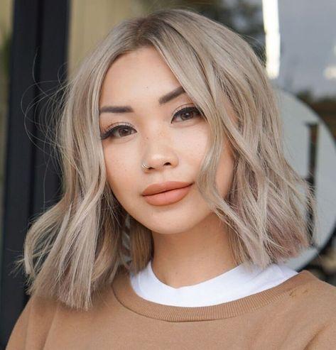 Pixie Hairstyles, Medium Hairstyles For Girls, Modern Hairstyles, Medium Hair Styles, Long Hair Styles, Blonde Hairstyles, Hairstyles 2018, Hair Cut Styles, Short Styles