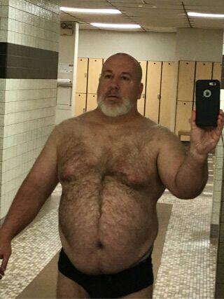 Cock men tumblr hairy fat