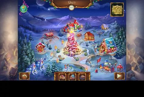 Christmas Solitaire.Lapland Solitaire Lapland Solitaire A Christmas Game