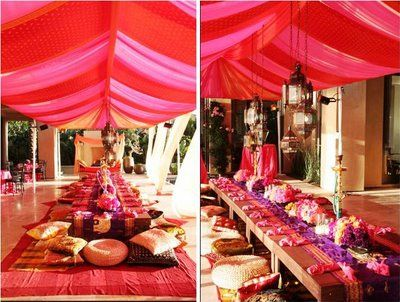 Indian Dinner Party Inspiration Board For Esme S India