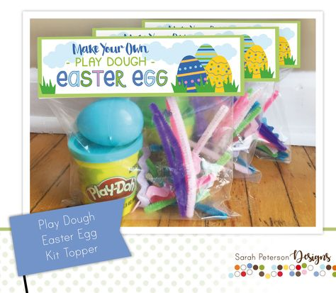 Bag Toppers, Easter Crafts For Kids, Easter Ideas, Diy Straw, Plastic Easter Eggs, Easter Baskets, Make Your Own, How To Make, Craft Stick Crafts