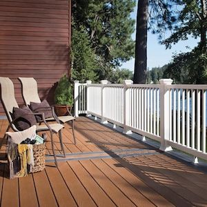 Trex Select 64 Pack 20 Ft Saddle Composite Deck Board At Lowes Com In 2020 Aluminum Decking Composite Decking Building A Deck