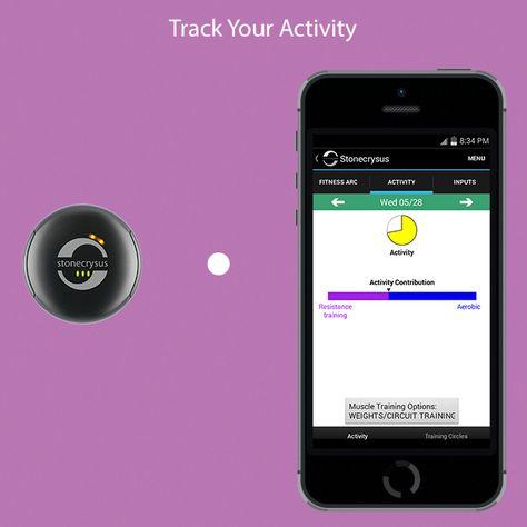 Stonecrysus Intelligent Fitness System Health App Activity