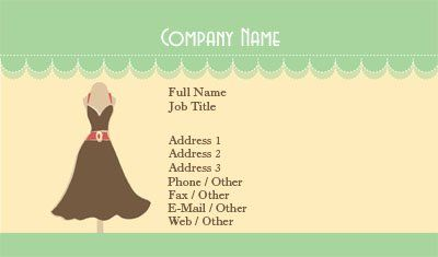 Business Card Design Garments Images - Card Design And Card