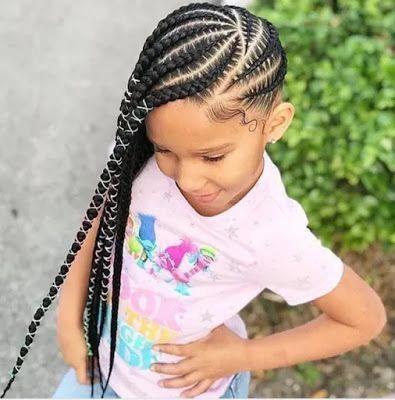 2019 Lovely Braids For Cute Little Kids In 2020 Lemonade Braids Hairstyles Black Kids Hairstyles Kid Braid Styles