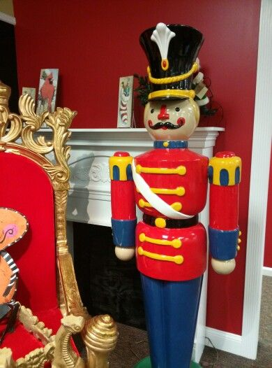 Toy soldier at The Christmas Shop.