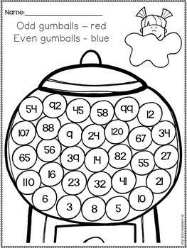 Odd And Even Numbers Worksheets Google Slides Kindergarten First Grade Even And Odd 2nd Grade Math Worksheets Homeschool Math Odd even worksheets for kindergarten