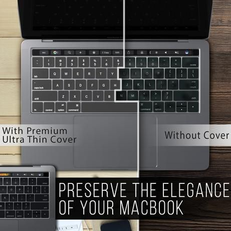 Premium Ultra Thin Keyboard Cover Tpu For Macbook Pro 13 And 15 Inch In 2020 With Images Macbook Keyboard Cover Macbook Macbook Keyboard