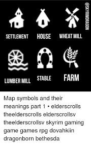 Image Result For Skyrim Ps3 Symbols On Map