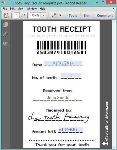 Best 25+ Tooth fairy receipt ideas on Pinterest Tooth fairy - hra rent receipt format