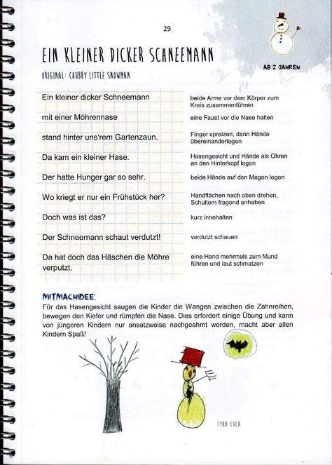 Pin Von Sarah Deuscher Auf Fingerspiele Winter Advent Und