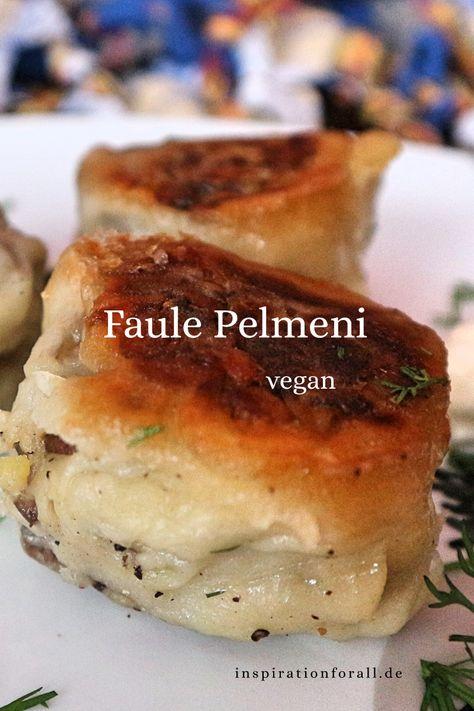 Ich zeige dir ein veganes Rezept für russische Faule Pelmeni. Die vegetarischen Teigtaschen sind ohne Ei und einfach und schnell zu zubereiten. #FaulePelmeni #PelmeniVegetarisch #PelmeniOhneEi #PelmeniRussisch