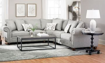 Emerson Stain Resistant Feather Down Sectional Furniture Buy Home Furniture Luxe Furniture