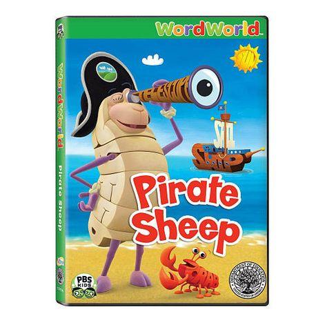 $9.99 Word World: Pirate Sheep DVD  - Word World 1009839 -  DVD - FAO Schwarz®