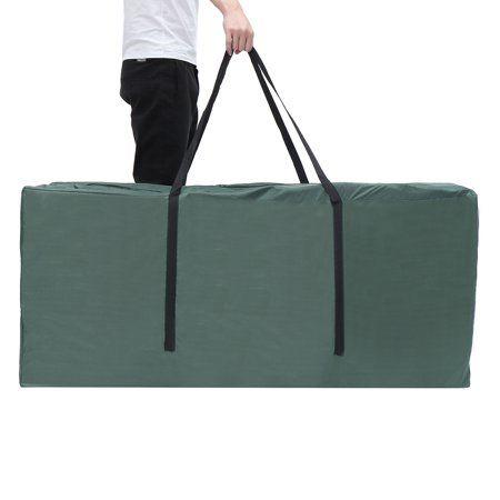 Moaere Patio Cushion Storage Bag Waterproof Cushion Cover Outdoor