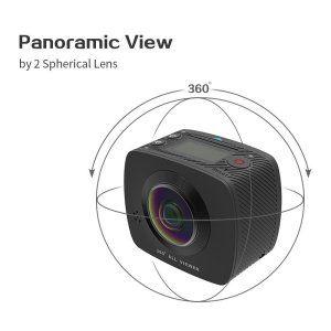 Top 10 Affordable 360 Degree Vr Cameras Under 100 Veer Vr Blog Vr Camera Digital Camera Digital Video Camera