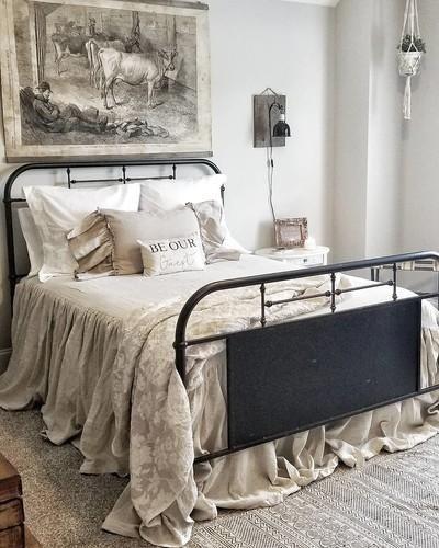 Wilton Natural Bedspread | Pine Cone Hill in 2019