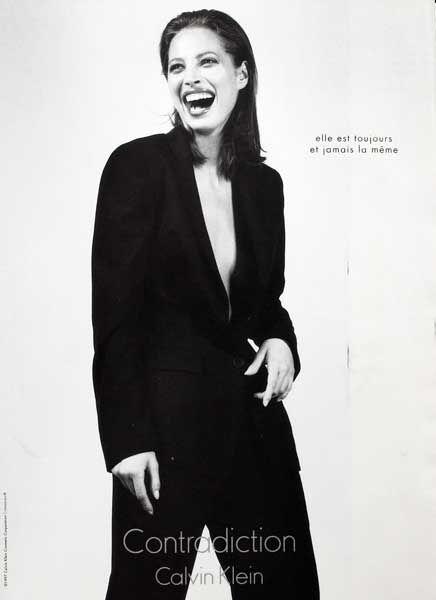 Calvin Publicité Du Parfum KleinPub Contradiction1998De L5jR3A4