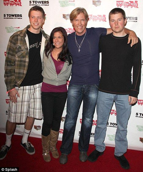 Jack Wagner, long lost daughter, Carrie. They were also joined by Jack's other two sons for some happy snaps