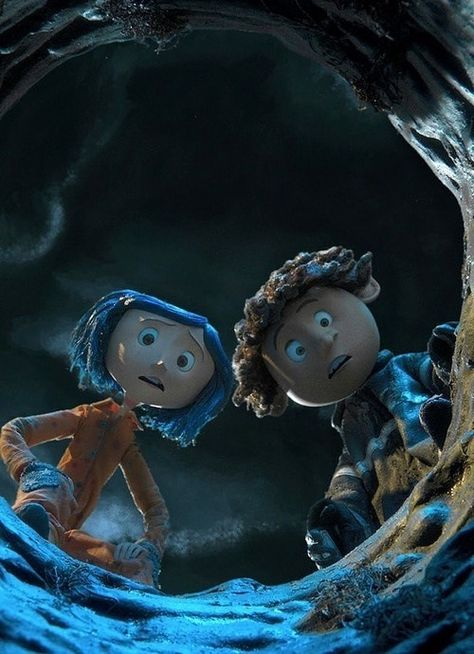 Coraline and Whyborn looking down the well Coraline And Wybie, Coraline Art, Coraline Movie, Coraline Jones, Animation, Coraline Aesthetic, Stop Motion Movies, Jennifer Saunders, Dawn French