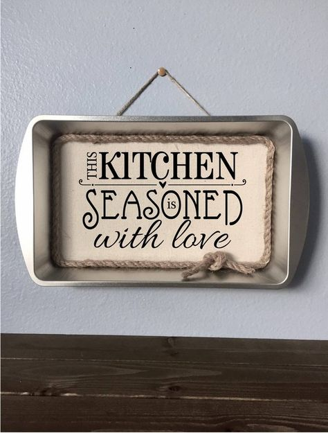 Kitchen Sign Rustic Farmhouse Style Decor This Kitchen Is