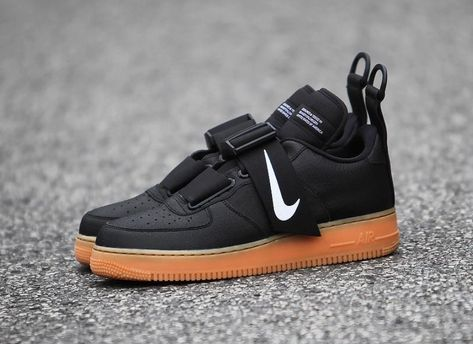 Nike Air Force 1 Utility Black Gum Release Date Nike air  Nike air