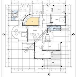 5 Bedroom House Plan Digital File Luxury Floor Plan Etsy In 2020 Luxury Floor Plans Architectural Floor Plans Bedroom House Plans