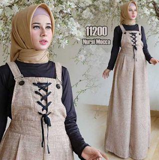 110 Ide Gamis Lebaran Baju Muslim Gaun Victoria