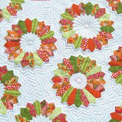 12 New Designs for Dresden Quilt Patterns - Dresden plate quilt patterns have been around forever, and quilters keep finding new ways to design them. Take a look at our collection to see some of our favorite ways to use Dresden plate patterns in quilting.