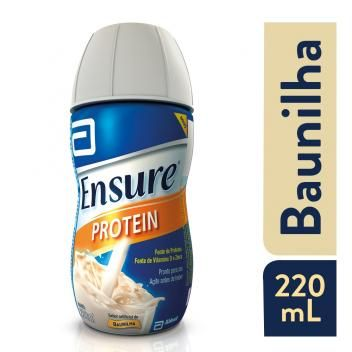Complemento Alimentar Ensure Protein Baunilha 220ml Abbott
