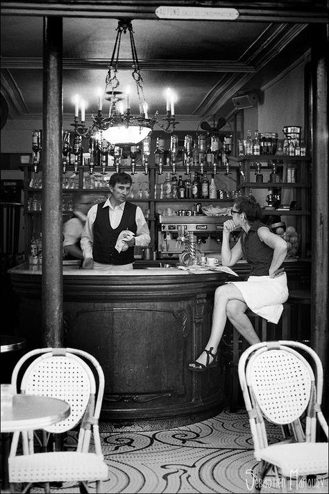 Bar Print Photo Art Bar Decor Black and White Black and White Art Bar Photography Photography Travel Photography Cocktail Bar