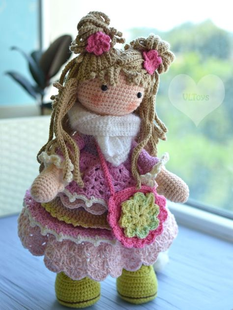 28 Best Amigurumi Doll Designs of March. Different Crochet Doll Dress ideas  - Page 14 of 28 - Best Amigurumi | 630x474