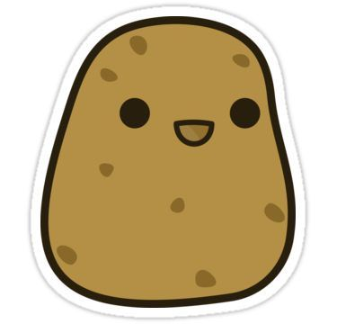 cute potato sticker cute potato kawaii potato cute stickers cute potato kawaii potato cute stickers