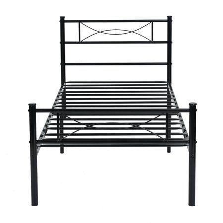 Home Metal Platform Bed Metal Beds Steel Bed Frame