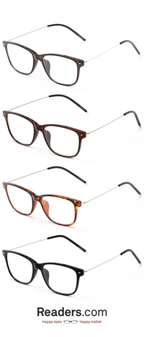 The Bodie Reader Is A Perfect Combo Of Neutral Plastic With Thin Metal Temples Readers Com Glasses Clothes For Big Men Fashion Eyeglasses Eyewear Trends
