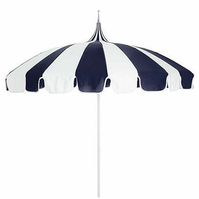 Pagoda Patio Umbrella Navy White Pagoda Patio Patio Umbrella
