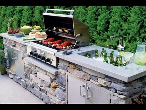 Found On Google From Youtube Com Outdoor Kitchen Design Backyard Patio Backyard