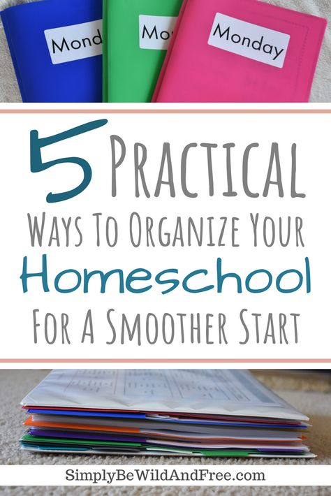 Get your homeschool room organized in a flash! Check out these 5 simple steps, ideas, hacks, and tips. Plus, find the best method to get it done in no time! Need easy? This list has you covered! Learn how to use everyday products to quickly organize your home. Find the perfect solution for every need! Get free printable homeschool schedules, pacing guides, and ultimate binder tips for helping your homeschool run smooth and organized. #Homeschool #organized #tips