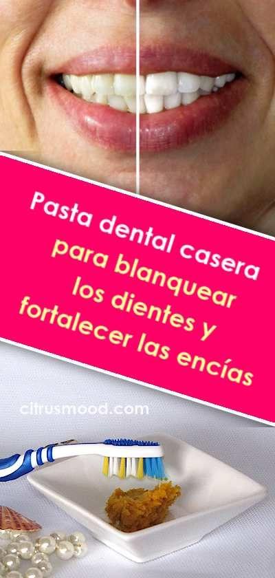 Pasta Dental Casera Para Blanquear Los Dientes Y Fortalecer Las